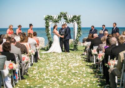 Summer Outdoor Ceremony - Erin Jean Photography
