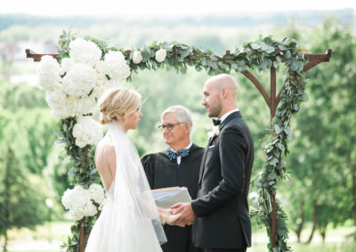 Summer Outdoor Ceremony - Erin Jean Photography