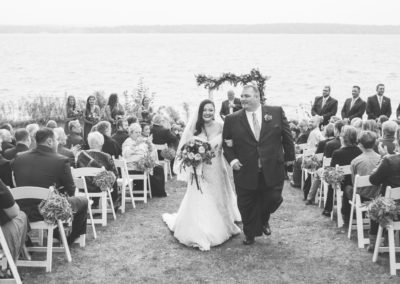 Fall Outdoor Ceremony - Erin Jean Photography