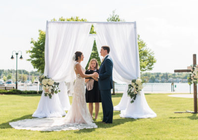 Summer Outdoor Ceremony - Jenna Kutcher